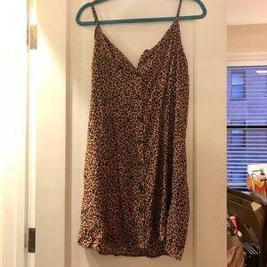 NWOT - H&M Cheetah Print Dress